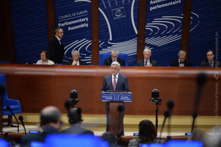 Серж Саргсян: Турция не может говорить с Арменией с позиций силы, на языке предусловий