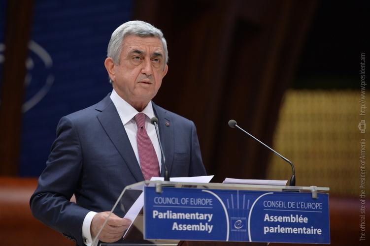 Президент Армении: Апрельские действия Баку пробудили ужасные воспоминания о Сумгаите