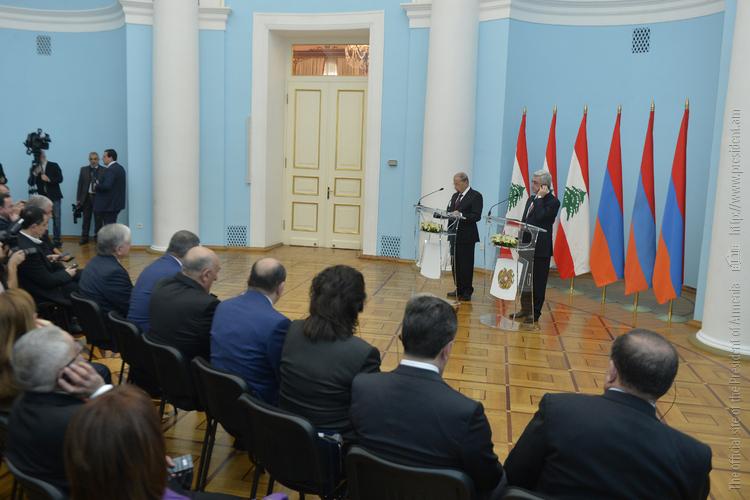 Президент Ливана: Мы рядом с Арменией в защите ее интересов