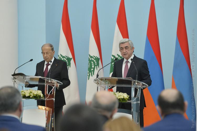 Президент Ливана: В армяно-ливанских отношениях зарегистрирован ощутимый прогресс