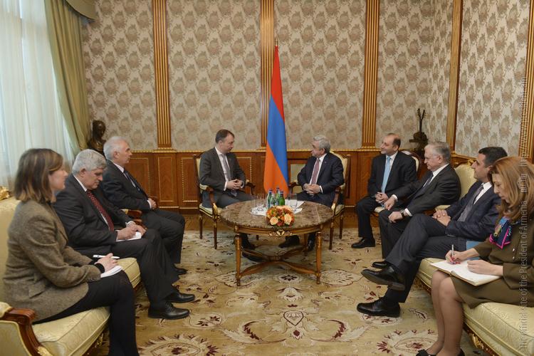 Серж Саргсян: До конца апреля Армения ратифицирует соглашение с ЕС