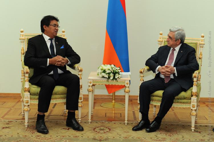 Президент Армении на встрече с главой МИД Мадагаскара: Географическая отдаленность – более не проблема для сотрудничества