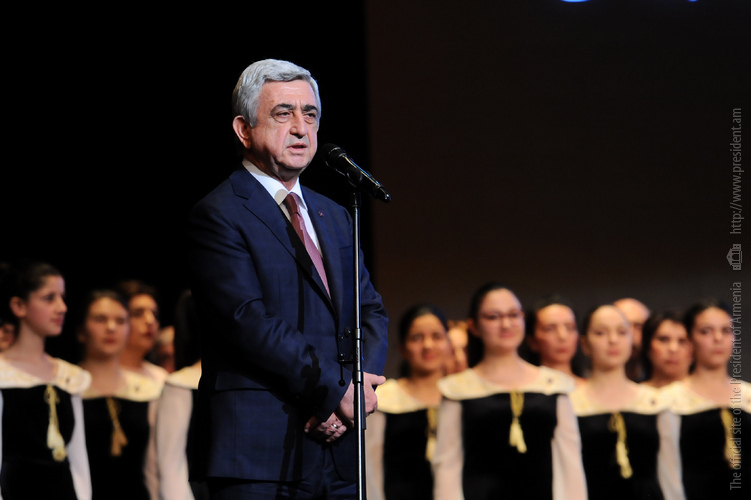Артавазд Пелешян поблагодарил президента за внимание к искусству в пору войны