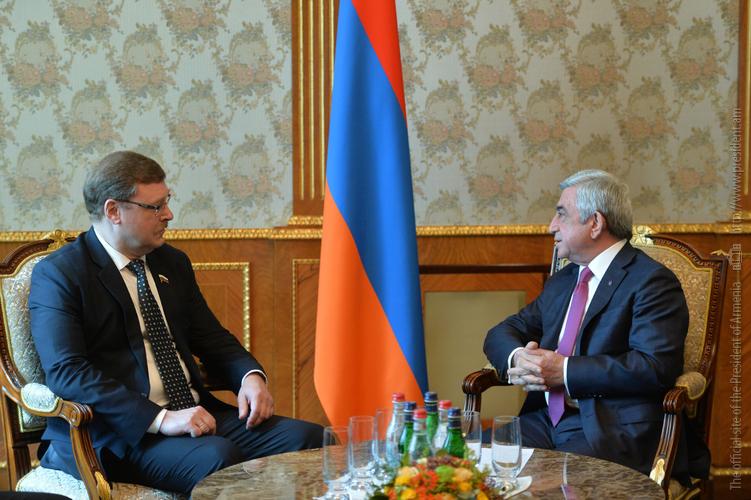 Серж Саргсян: Армяно-российские отношения отличаются активным диалогом и эффективным сотрудничеством во всех сферах