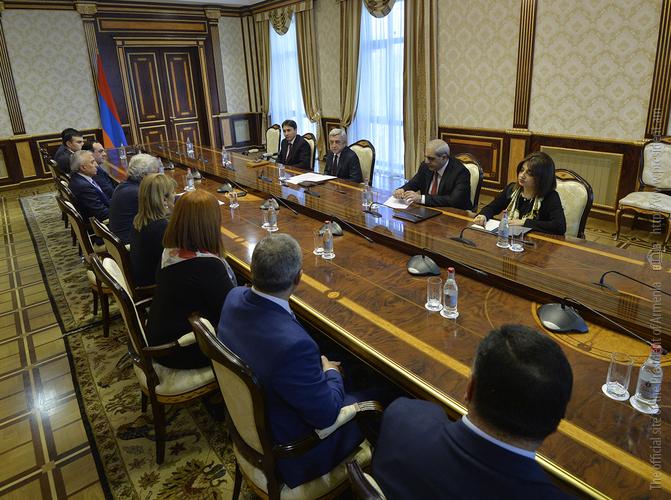 Серж Саргсян: «Мы должны достичь высокого уровня правосудия»