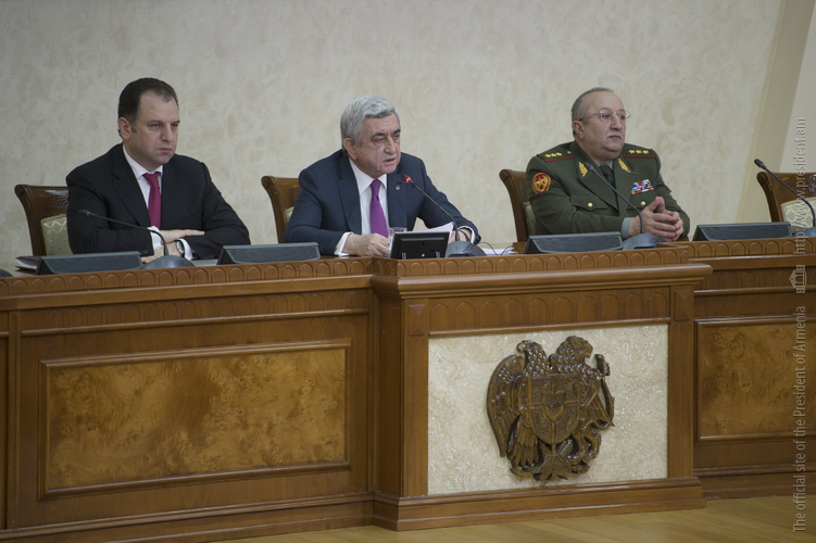 Серж Саргсян: ВПК должен стать важнейшим поставщиков армии и движущей силой экономики Армении