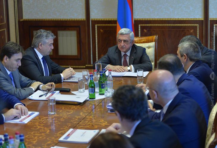 Серж Саргсян поручил разработать четкий график цифровой трансформации Армении на 2018-2030 годы
