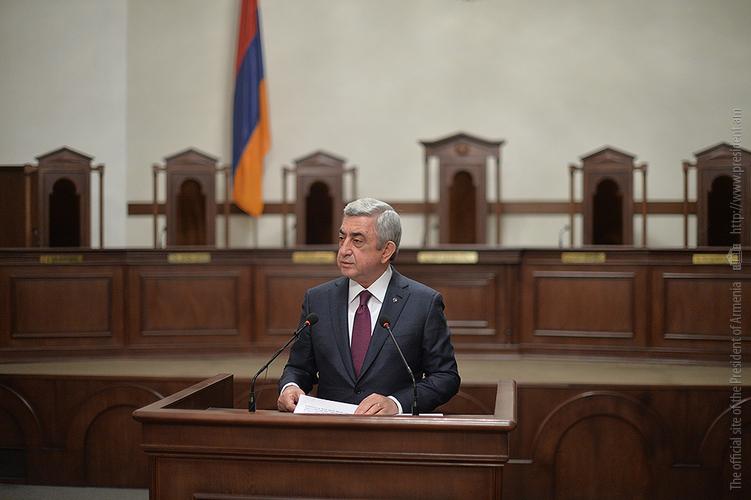 Серж Саргсян поставил перед Конституционным судом четкую задачу – повысить качество правосудия в Армении