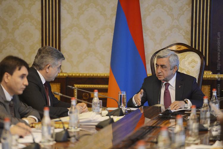 Серж Саргсян: Экономический рост должен быть ощутим для каждого гражданина