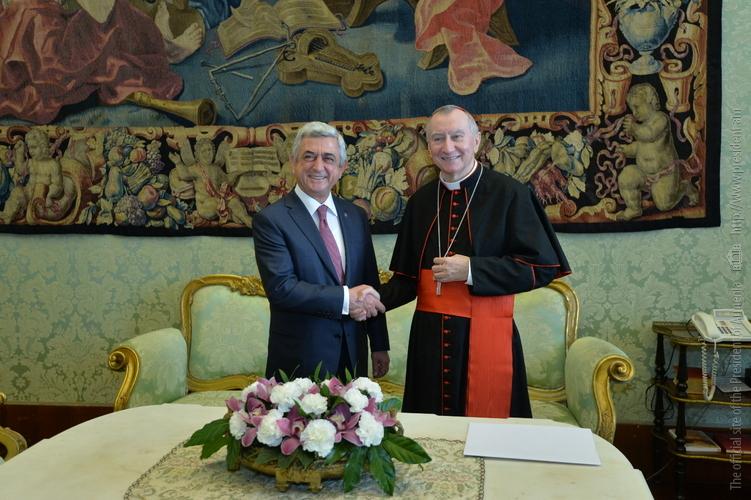 Серж Саргсян: Статуя Нарекаци вновь подтверждает духовную связь Армении и Ватикана