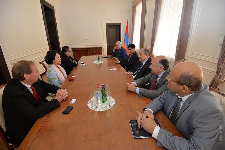 Президент Армен Саркисян: IT-сфера является одним из приоритетов экономики Армении