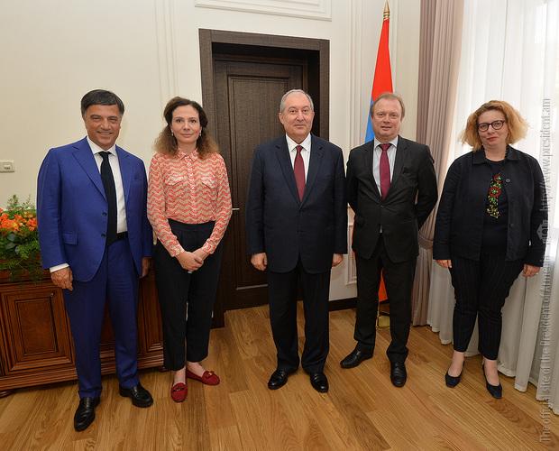 Президент Армении принял содокладчиков Мониторинговой комиссии ПАСЕ по делам Армении