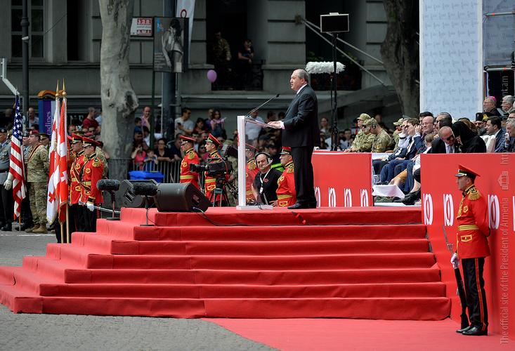 Президент Армении Армен Саркисян: Тбилиси для меня особенный город