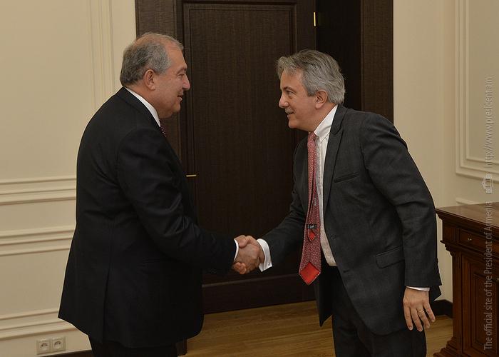 Президент Армении и представители ЕБРР обсудили развитие отношений