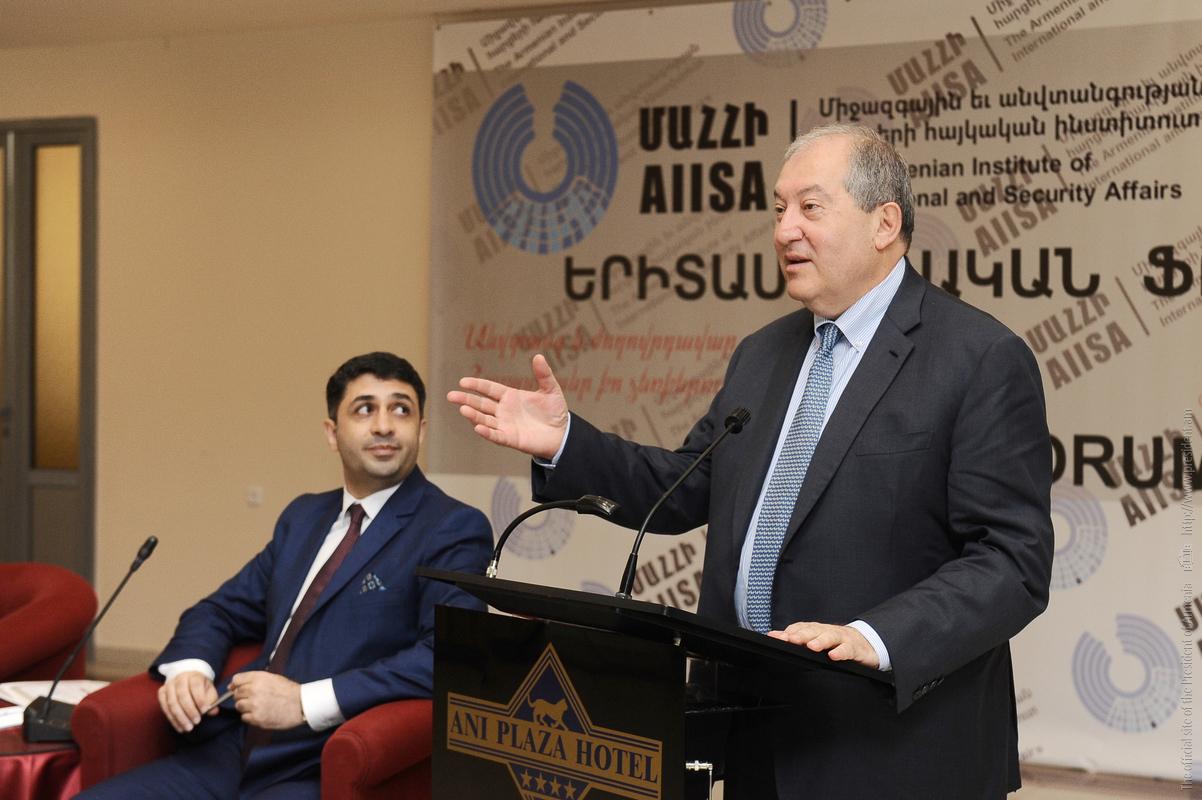 Армен Саркисян рассказал о магии цифры 7, делах Господних и решении вступить в должность президента Армении