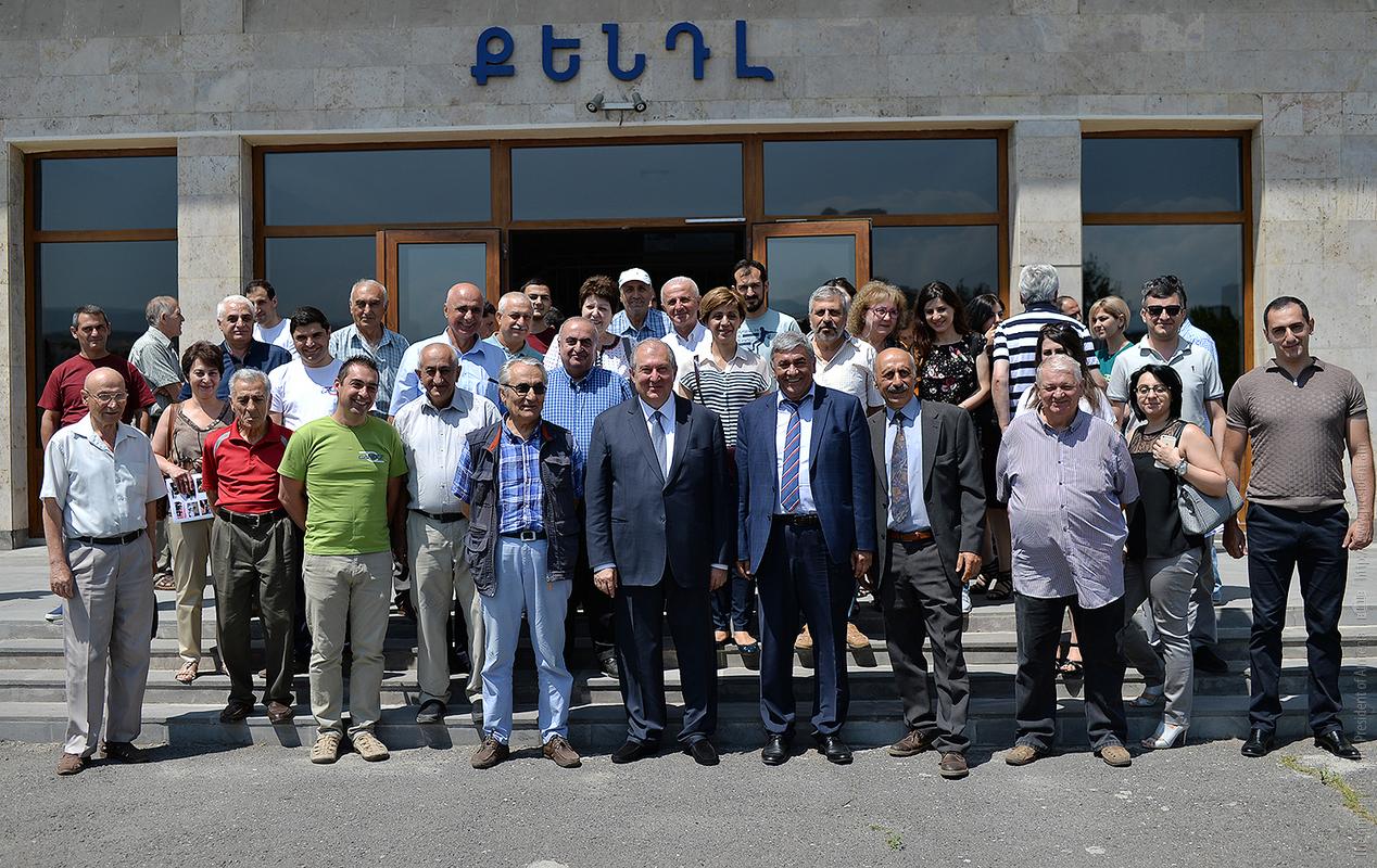 Президент Армении заявил о важности формирования нового видения развития науки