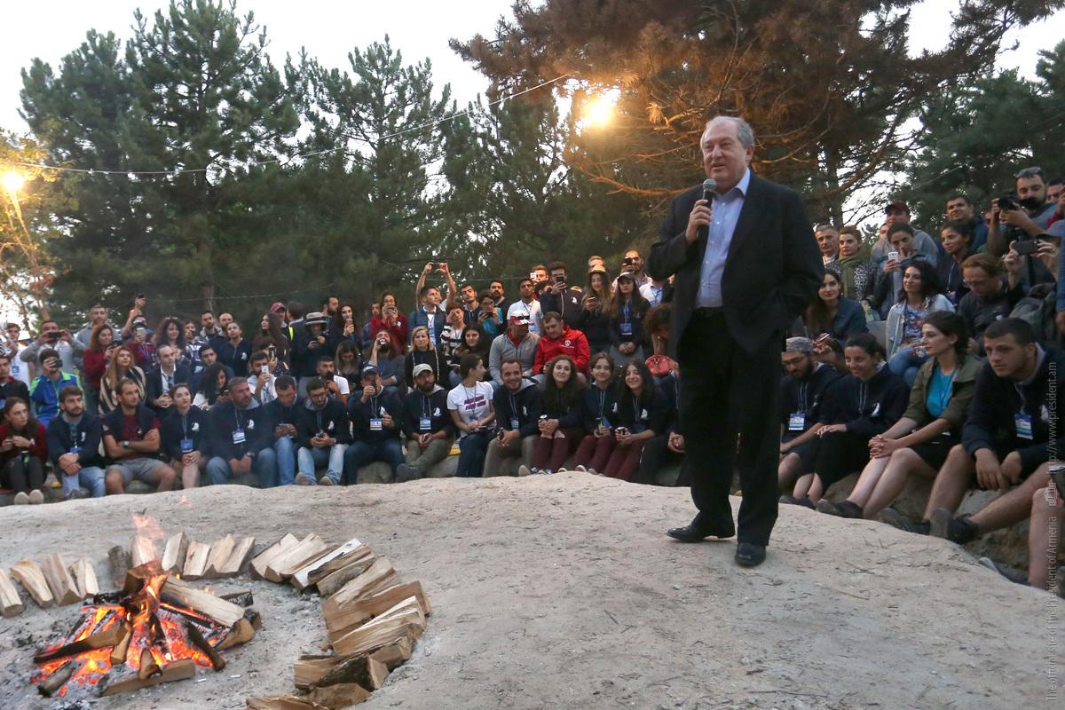 Президент Армении - участникам Sevan Startup Summit 2018: мечтайте смело и ломайте стереотипы