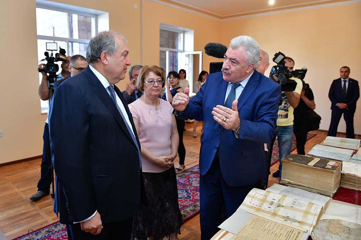 Президент Армении: Наша идентичность очень существенна для наших дальнейших шагов