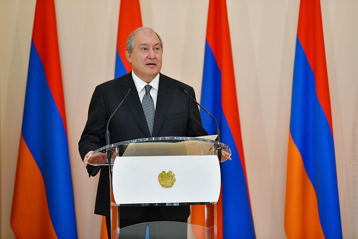 Президент Армен Саркисян: Новая Армения должна стать Арменией побед