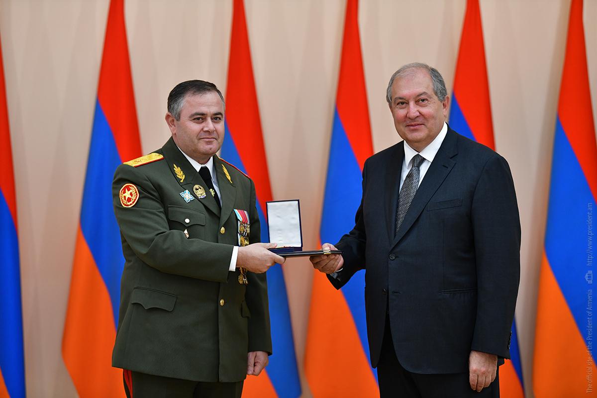 Начальнику Генштаба ВС Армении Артаку Давтяну присвоено звание генерал-лейтенанта