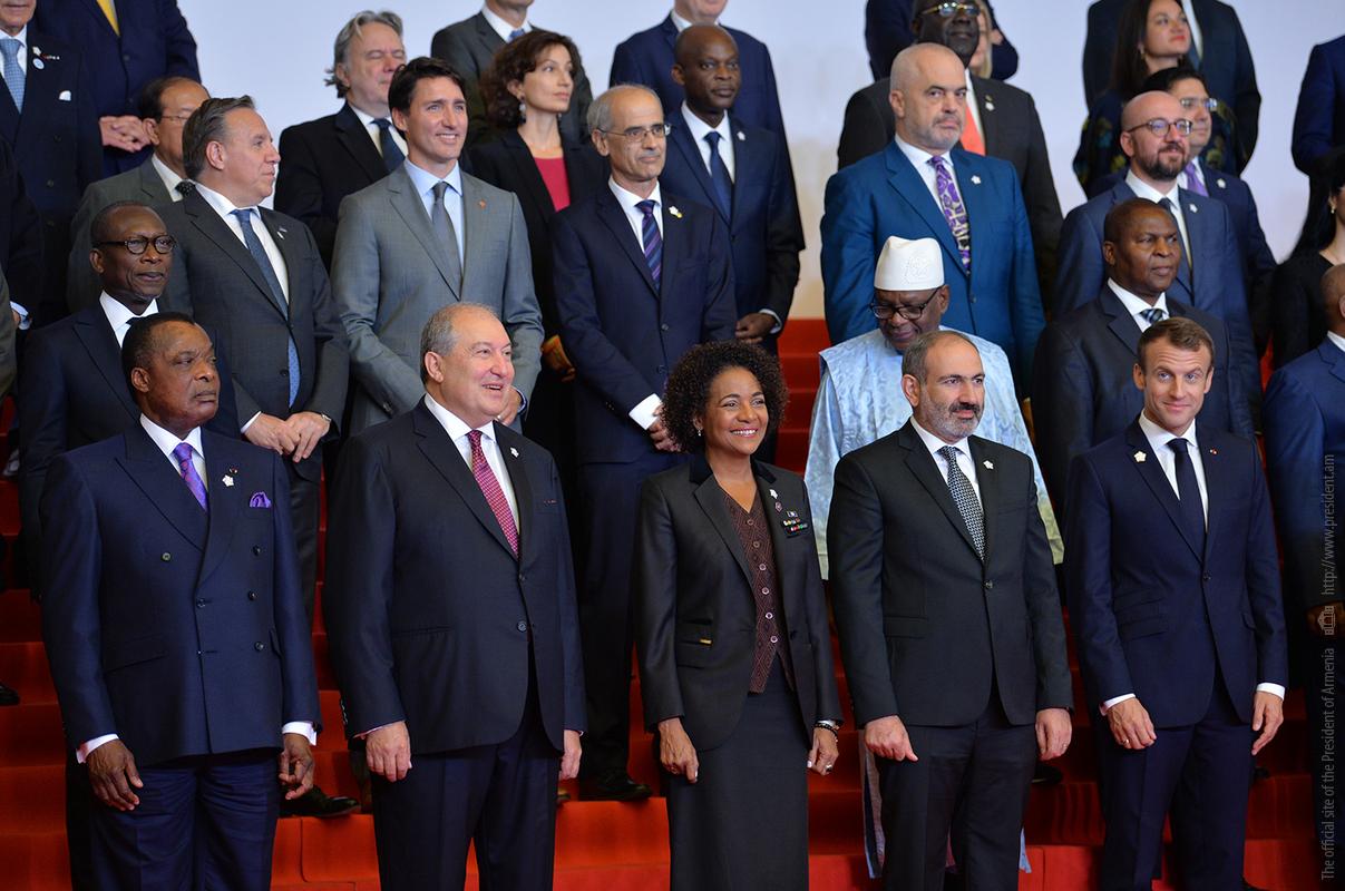Президент Армении пообщался с главами Франции, Канады, Ливана, Монако и других стран
