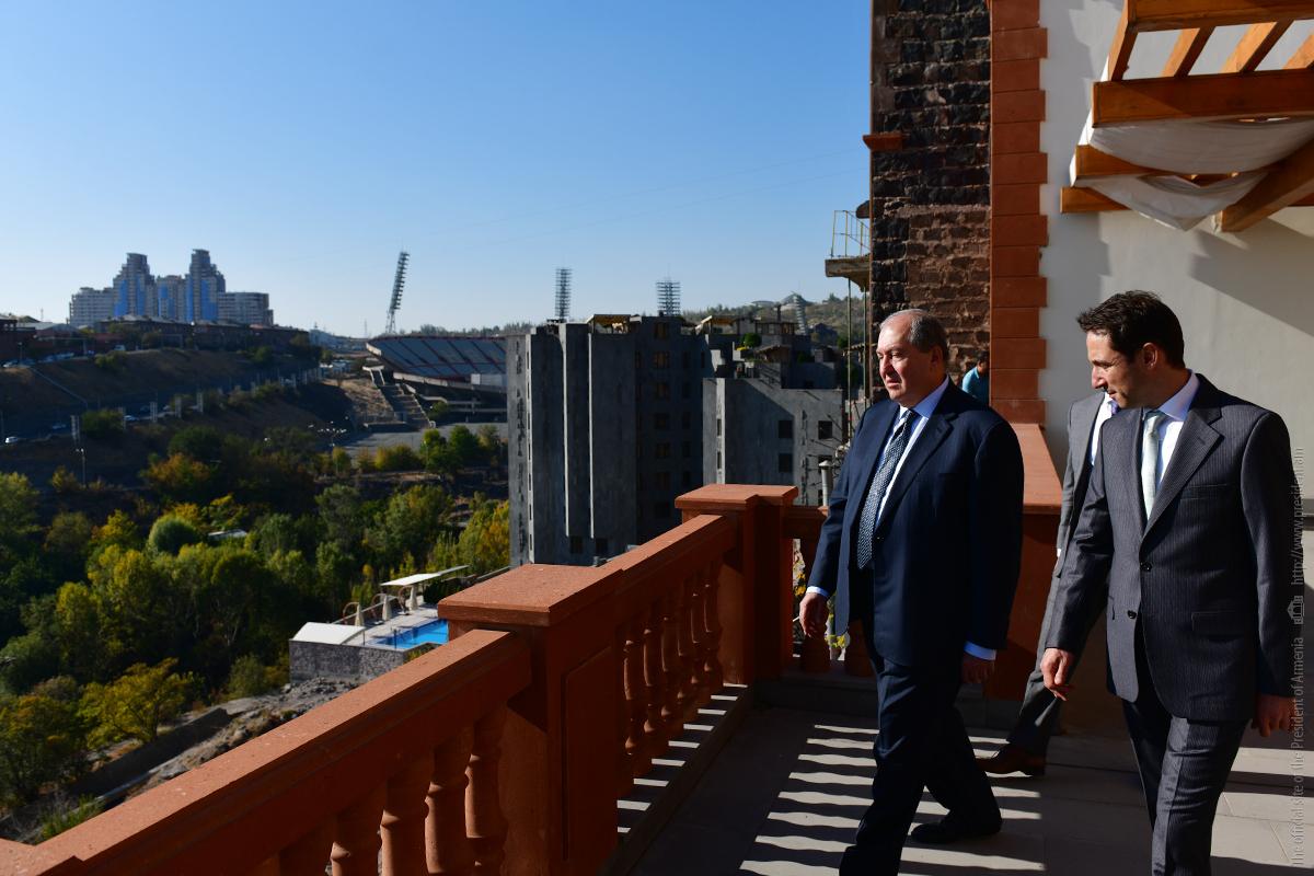 Армен Саркисян и Айк Марутян обсудили перспективы развития столицы Армении Еревана