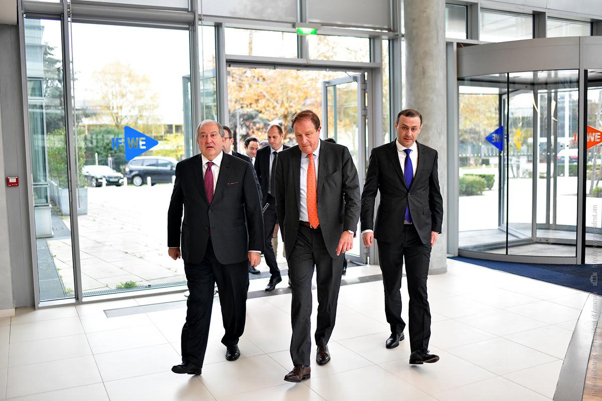 Президент Армении обсудил с представителями компании «Dassault systemes» возможности чёткой программы сотрудничества