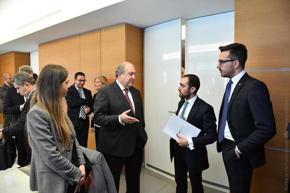 Ассоциация строительных компаний Италии заинтересована в деятельности в Армении