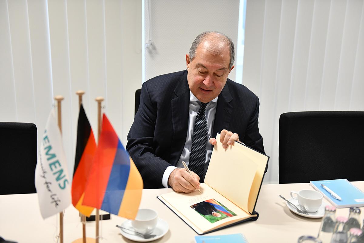 Передовые технологии «Siemens» будут использоваться в Армении