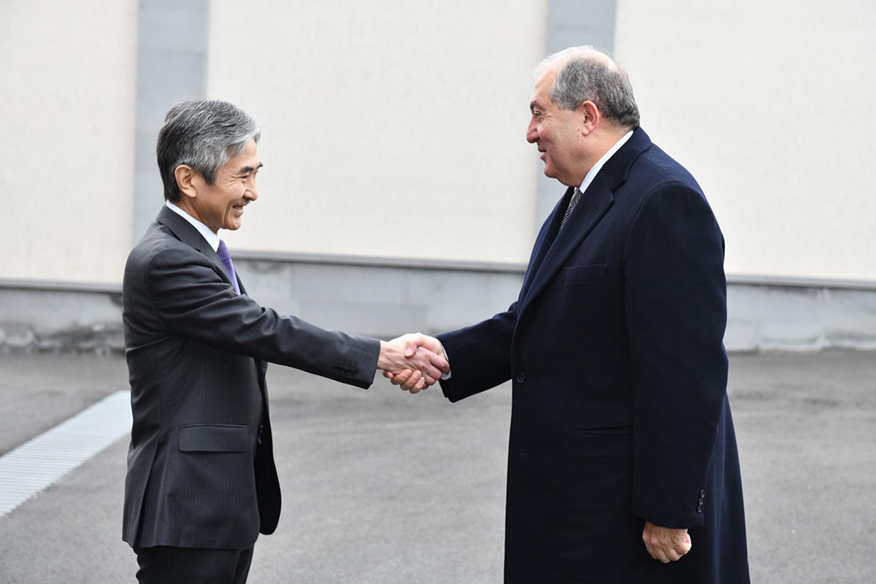 Картинки по запросу Посол Японии:в армении