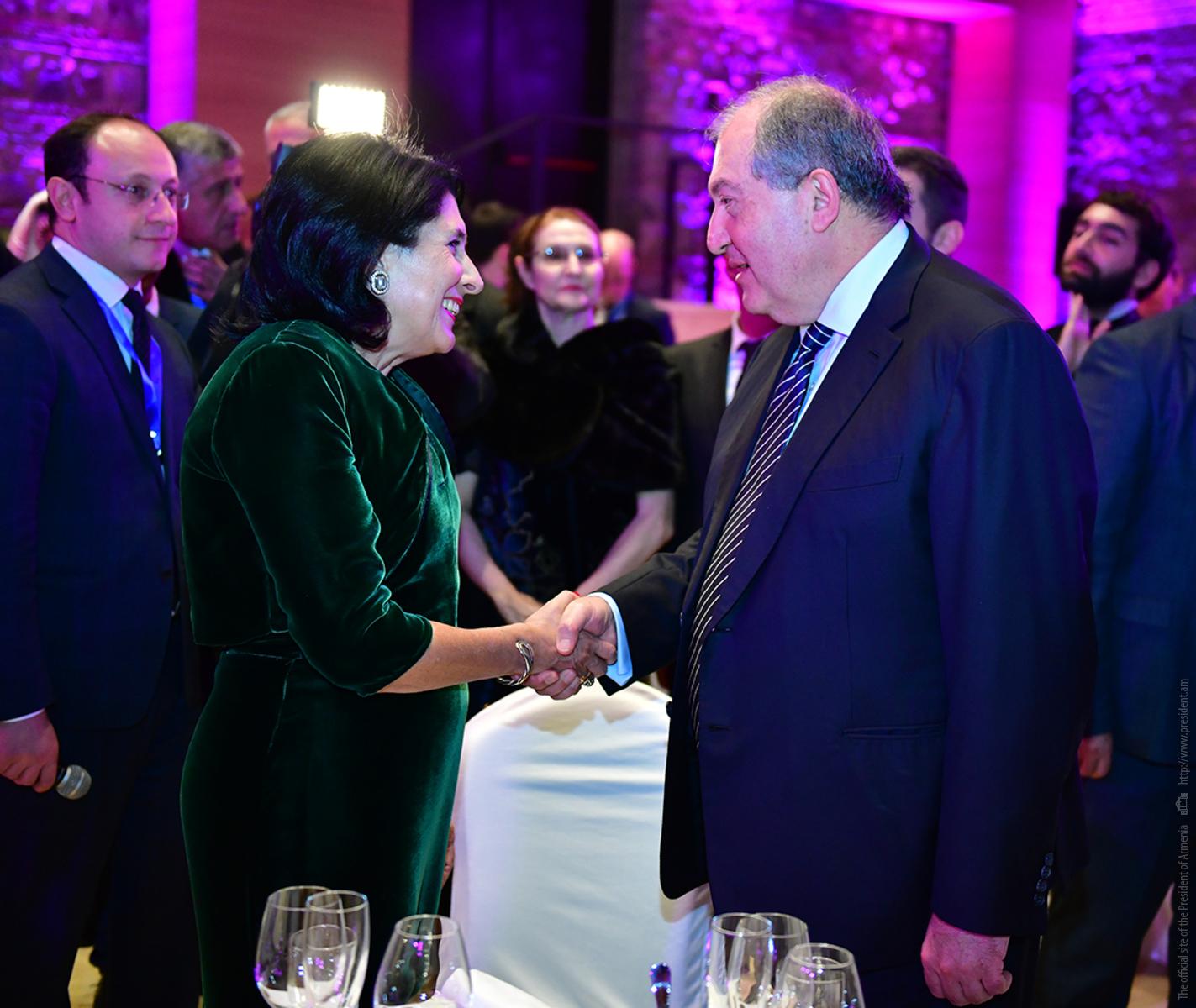 Армен Саркисян: Армяне и грузины – действительно братские народы