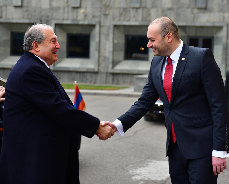 Армен Саркисян: Для меня большая честь находиться в дружественной стране в столь важный для Грузии период