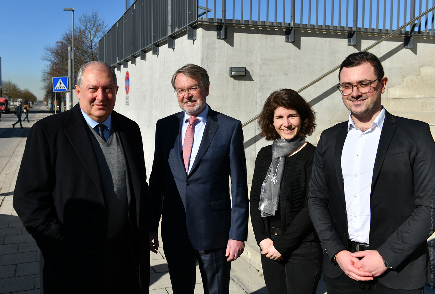 President Armen Sarkissian visited the Technical University