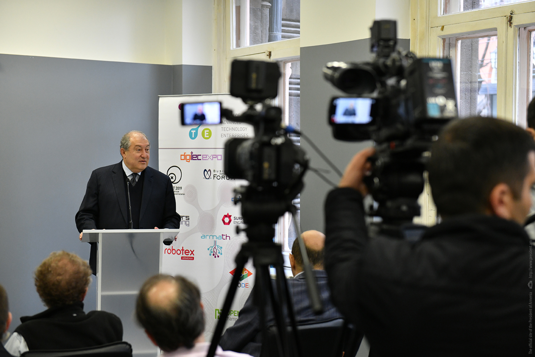 Армен Саркисян: Мы хотим гарантировать, что через 10-20 лет Армения будет одной из самых передовых стран мира