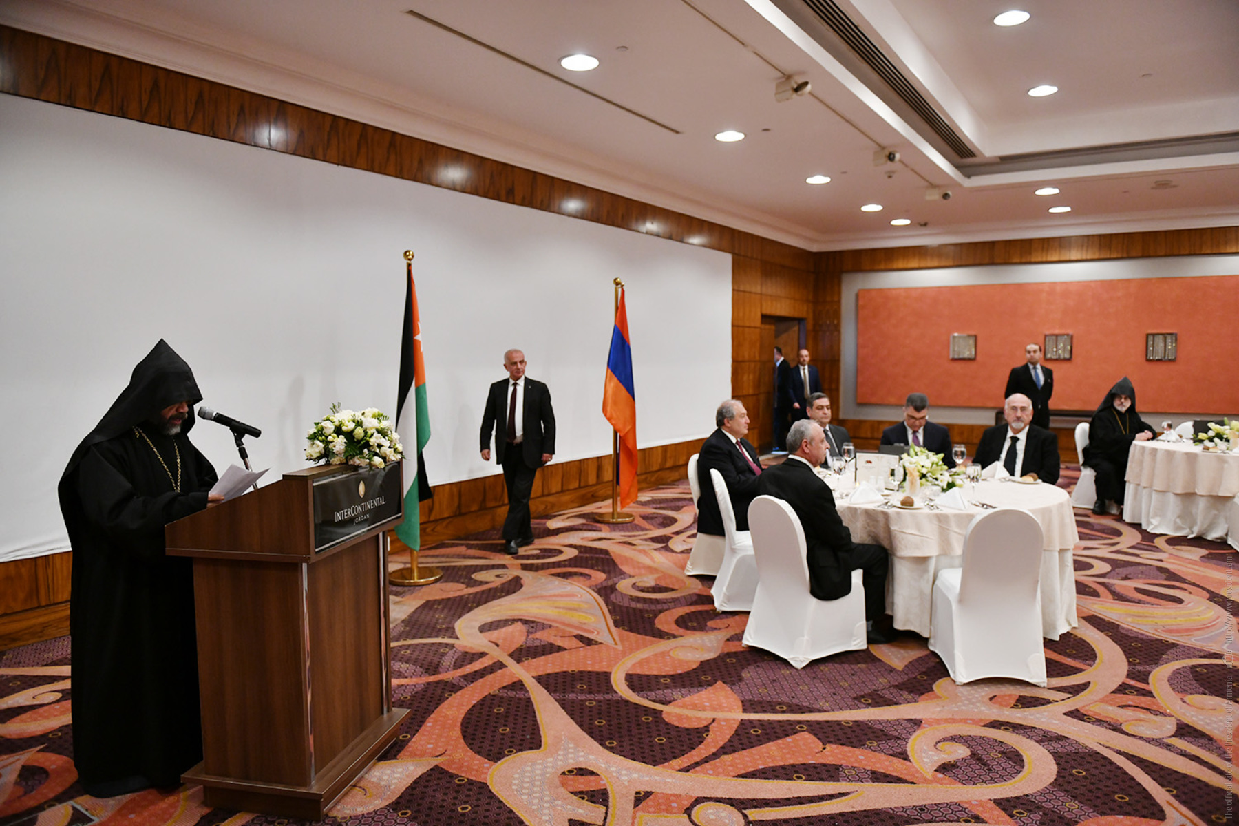 President Sarkissian met with the Armenian community of Jordan: To