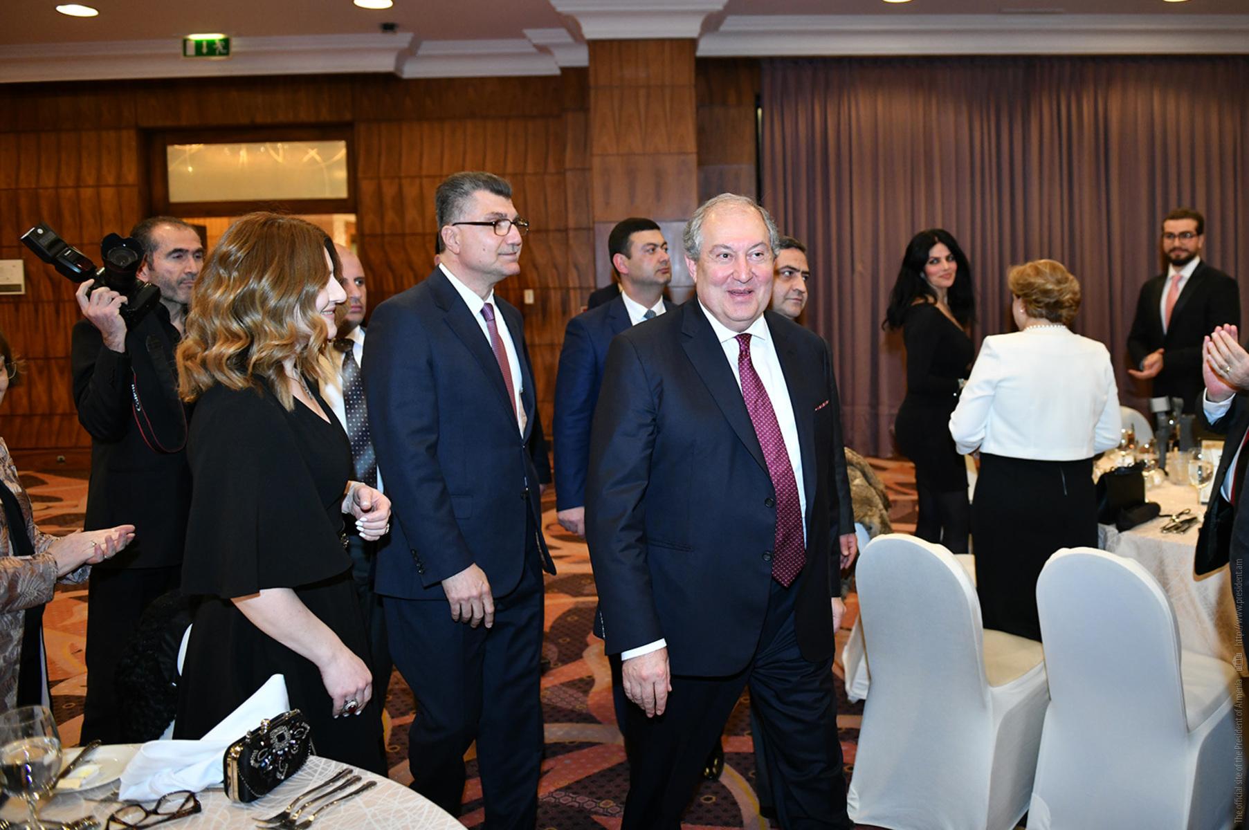 Армен Саркисян встретился с представителями армянской общины Иордании