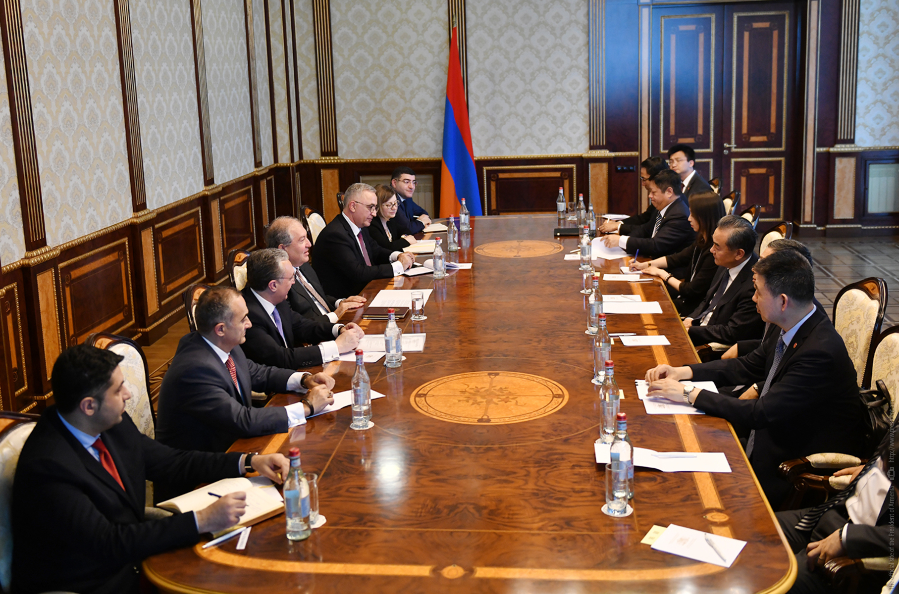 Armenian President: Armenian-Chinese relations have a history of millenniums