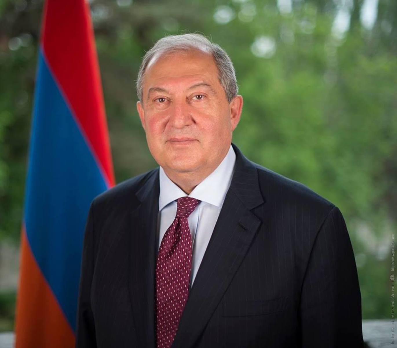 Armenian President leaving for Spain