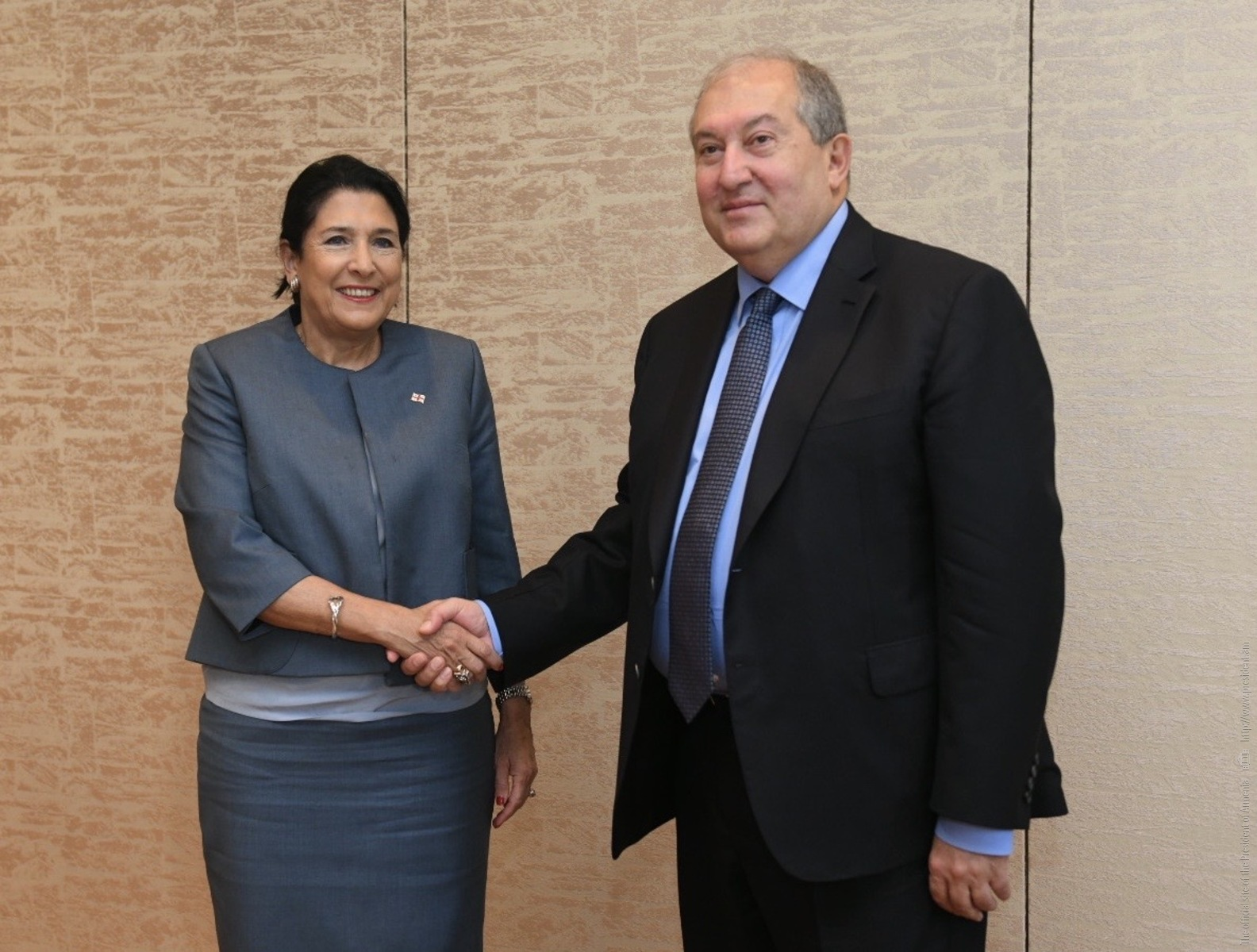 Президент Армении и Президент Грузии