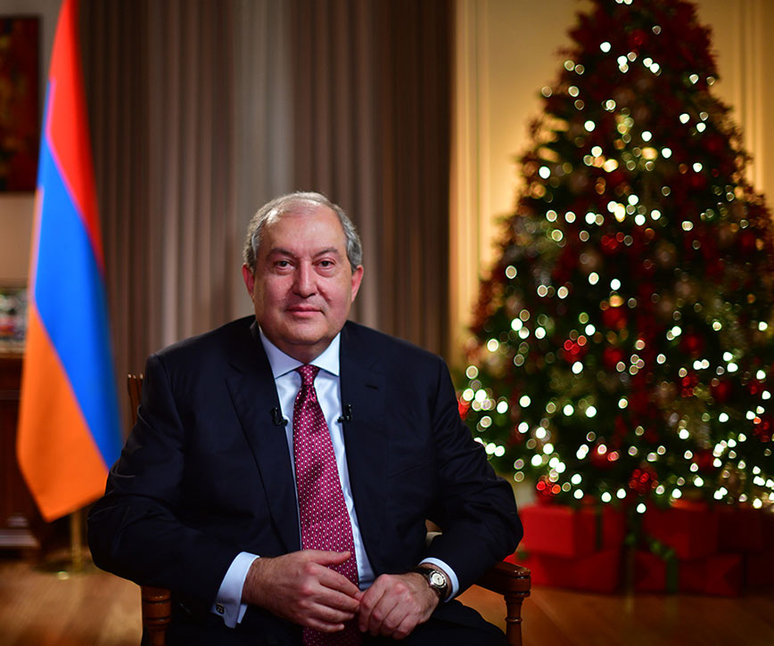 President sent a congratulatory message on the occasion of New Year