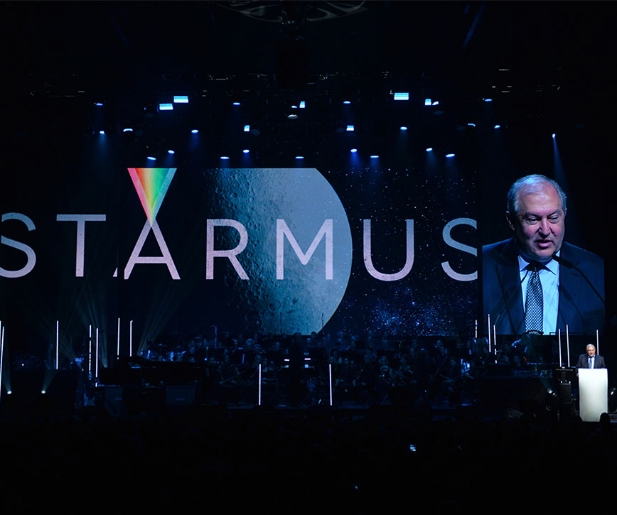 President participated at the opening of STARMUS festival