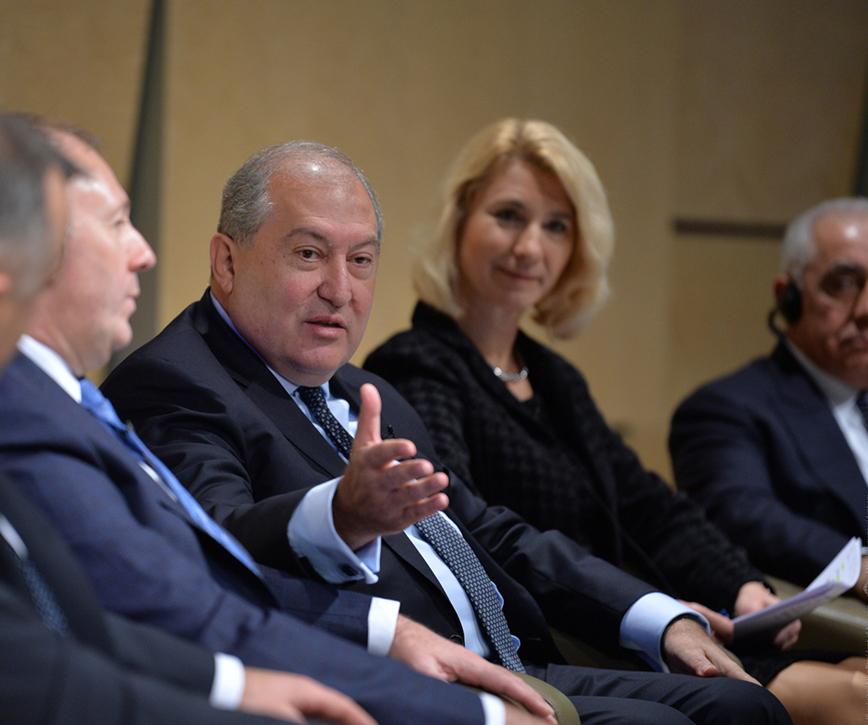 Armenia is focused on future
