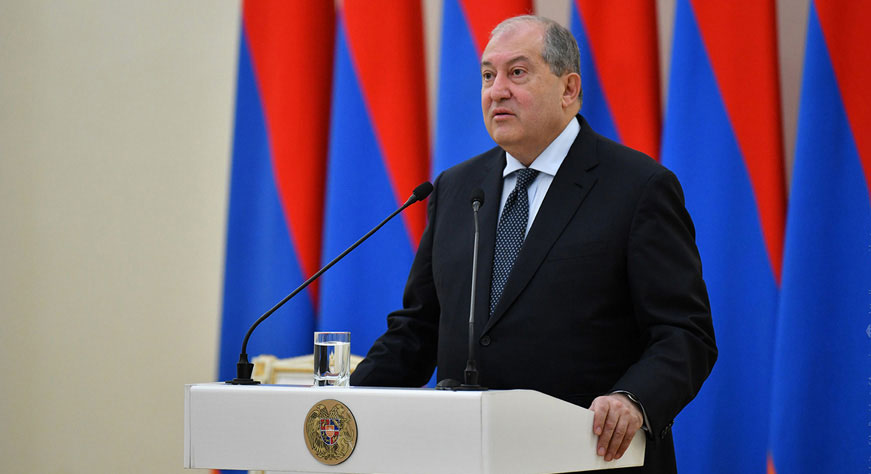 Armen Sarkissian: This is the best time to make also the economic revolution