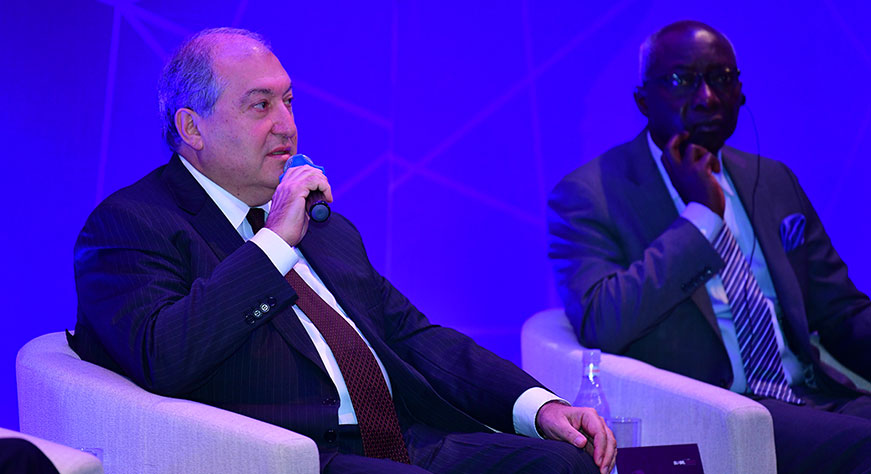 Armen Sarkissian: 103 years after the Genocide, we have proved to the world that light and good will prevail