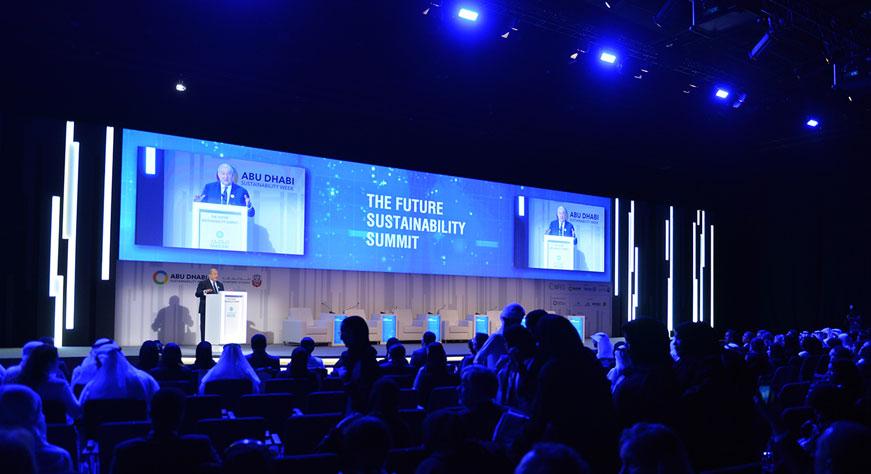 Արմեն Սարգսյանը Աբու Դաբիի համաժողովում հանդես է եկել որպես գլխավոր բանախոս