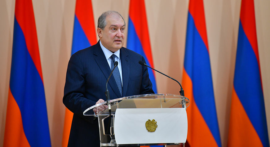 Statement of President Armen Sarkissian on the occasion of Army Day
