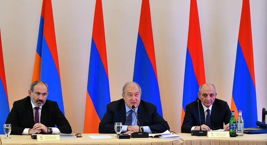 President Armen Sarkissian's speech at the 28th annual meeting of the Hayastan All-Armenian Fund
