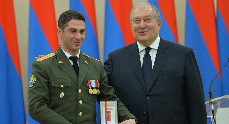 Речь Президента Армена Саркисияна ко Дню армии