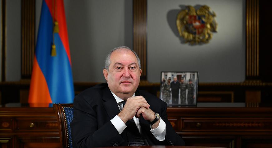 Поздравительное послание Президента Республики Армена Саркисяна по случаю Нового года