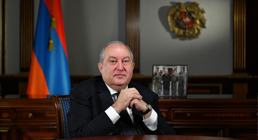 Adresse de Noël du Président Armen Sarkissian